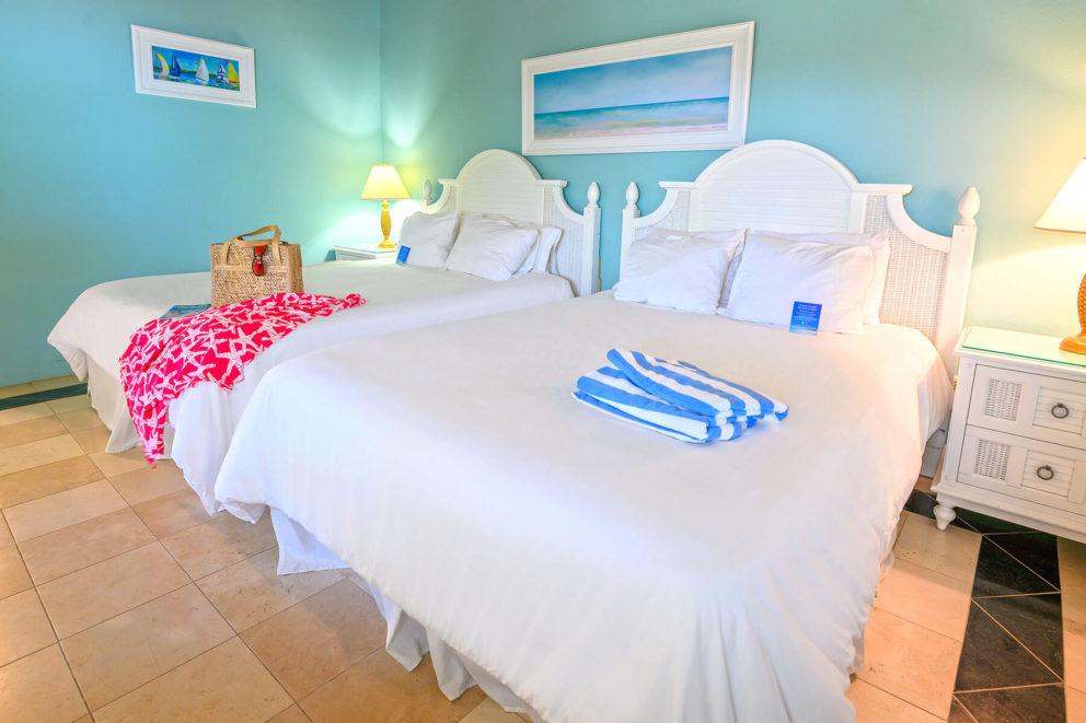 Two bedroom bungalow bedroom